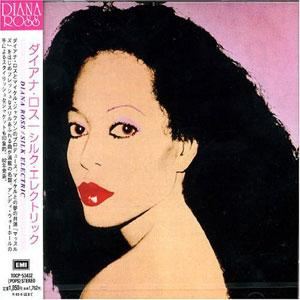 Album  Cover Diana Ross - Silk Electric on RCA Records from 1982