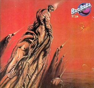 Album  Cover Rockets - P 3,14 on ROCKLAND (CGD) Records from 1981