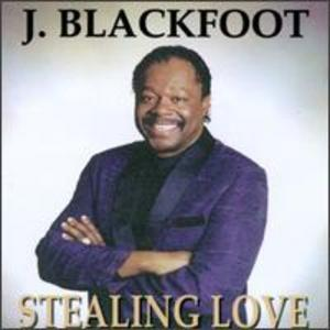 Album  Cover J Blackfoot - Stealing Love on BASIX Records from 1997