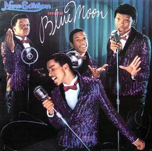Album  Cover New Edition - Under The Blue Moon on MCA Records from 1986