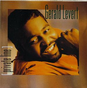Album  Cover Gerald Levert - Private Line on ATLANTIC Records from 1991