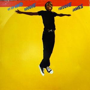 Album  Cover Freddie James - Get Up And Boogie on WARNER BROS. Records from 1979