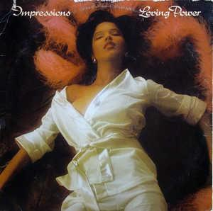 Album  Cover The Impressions - Loving Power on CURTOM Records from 1976