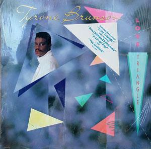 Album  Cover Tyrone Brunson - Love Triangle on MCA Records from 1987