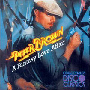 Album  Cover Peter Brown - A Fantasy Love Affair on [DRIVE] DRIVE Records from 1978