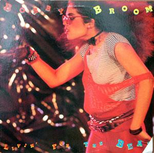 Album  Cover Bobby Broom - Living For The Beat on ARISTA Records from 1984