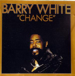 Album  Cover Barry White - Change on UNLIMITED GOLD Records from 1982