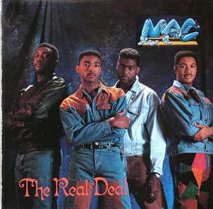 Album  Cover Mac Band - The Real Deal on ULTRAX Records from 1991