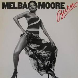 Front Cover Album Melba Moore - Burn