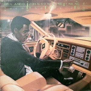 Album  Cover Orlando Johnson And Trance - Turn The Music On on ZIG ZAG Records from 1983