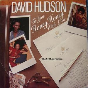 Front Cover Album David Hudson - To You Honey, Honey With Love