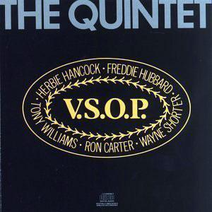 Front Cover Album Herbie Hancock - V.S.O.P. The Quintet
