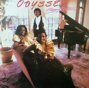 Album  Cover Odyssey - Happy Together on RCA Records from 1982