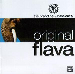 Album  Cover The Brand New Heavies - Original Flava on ACID JAZZ Records from 1995