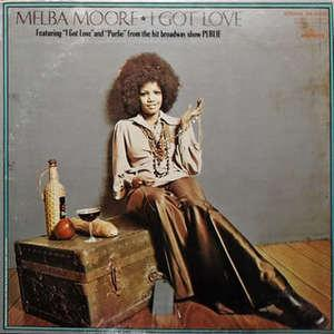 Front Cover Album Melba Moore - I Got Love