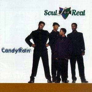 Album  Cover Soul For Real - Candy Rain on MCA Records from 1995