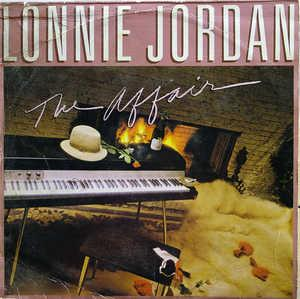 Album  Cover Lonnie Jordan - The Affair on BOARDWALK Records from 1982