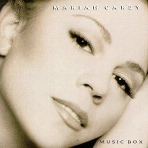Album  Cover Mariah Carey - Music Box on COLUMBIA Records from 1993