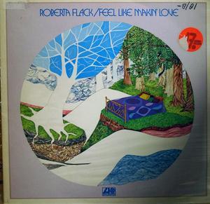 Album  Cover Roberta Flack - Feel Like Making Love on ATLANTIC Records from 1975