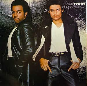 Album  Cover Black Ivory - Hangin' Heavy on BUDDAH Records from 1979