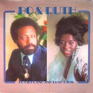 Album  Cover Bo Kirkland - Bo & Ruth on CLARIDGE Records from 1976