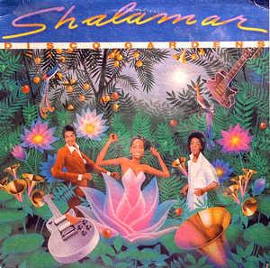 Album  Cover Shalamar - Disco Gardens on SOLAR Records from 1978