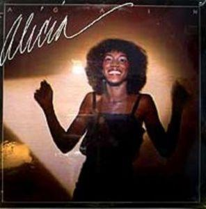 Album  Cover Alicia Myers - Again on MCA Records from 1981