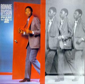 Album  Cover Ronnie Dyson - Phase 2 on COTILLION Records from 1981