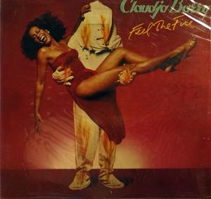Album  Cover Claudja Barry - Feel The Fire on CHRYSALIS Records from 1980