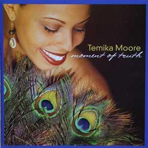 Front Cover Album Temika Moore - Moment Of Truth