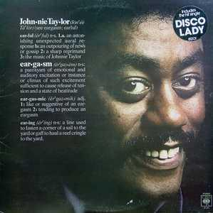 Album  Cover Johnnie Taylor - Eargasm on COLUMBIA Records from 1976