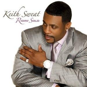 Album  Cover Keith Sweat - Ridin' Solo on KEDAR Records from 2010