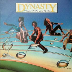 Album  Cover Dynasty - Adventures In The Land Of Music on SOLAR Records from 1980