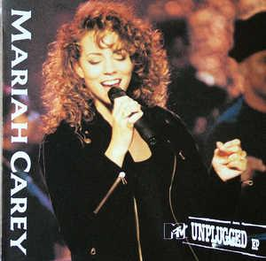 Front Cover Album Mariah Carey - MTV Unplugged EP