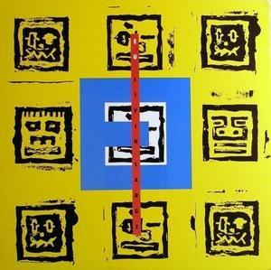 Album  Cover E.u. - Livin' Large on ATLANTIC Records from 1989