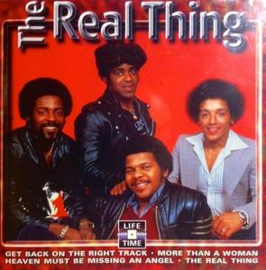 Album  Cover The Real Thing - The Real Thing Live on WAXWORKS Records from 1998