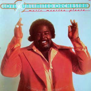 Front Cover Album The Love Unlimited Orchestra - Music Maestro Please