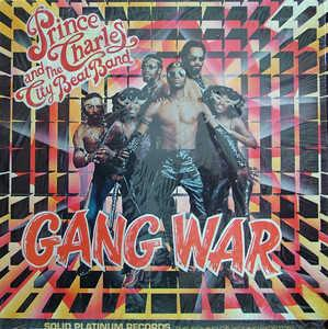 Album  Cover Prince Charles And The City Beat Band - Gang War on GREYHOUND Records from 1981