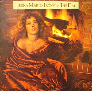 Album  Cover Teena Marie - Irons In The Fire on GORDY Records from 1980