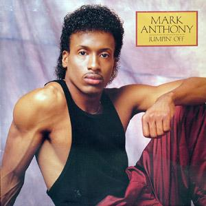 Album  Cover Mark Anthony - Jumpin' Off on TABU Records from 1988