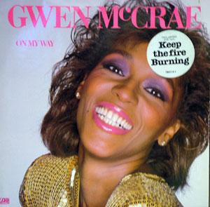 Album  Cover Gwen Mccrae - On My Way on ATLANTIC Records from 1982