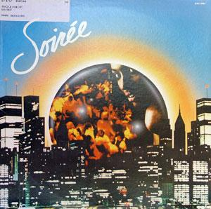 Album  Cover Soiree - Soiree on ROADSHOW Records from 1979