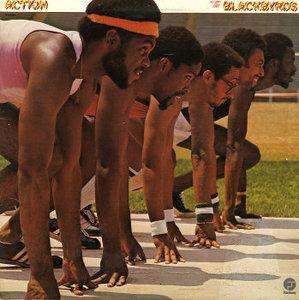 Album  Cover The Blackbyrds - Action on FANTASY Records from 1977