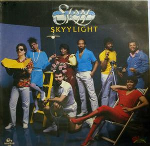 Front Cover Album Skyy - Skyylight