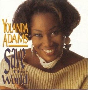 Album  Cover Yolanda Adams - Save The World on VERITY Records from 1993