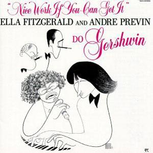 Front Cover Album Ella Fitzgerald - Nice Work If You Can Get It