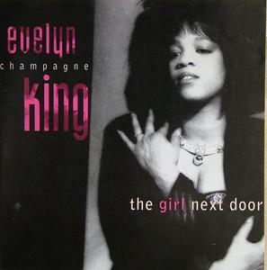 Album  Cover Evelyn 'champagne' King - The Girl Next Door on EMI Records from 1989