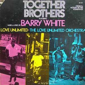 Album  Cover Barry White - Together Brothers on 20TH CENTURY Records from 1974