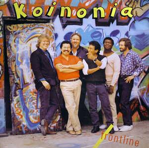 Album  Cover Koinonia - Frontline on SPARROW Records from 1986