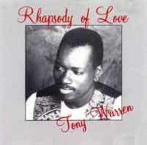 Album  Cover Tony Warren - Rhapsody Of Love on TURN-ON PRODUCTIONS Records from 1991